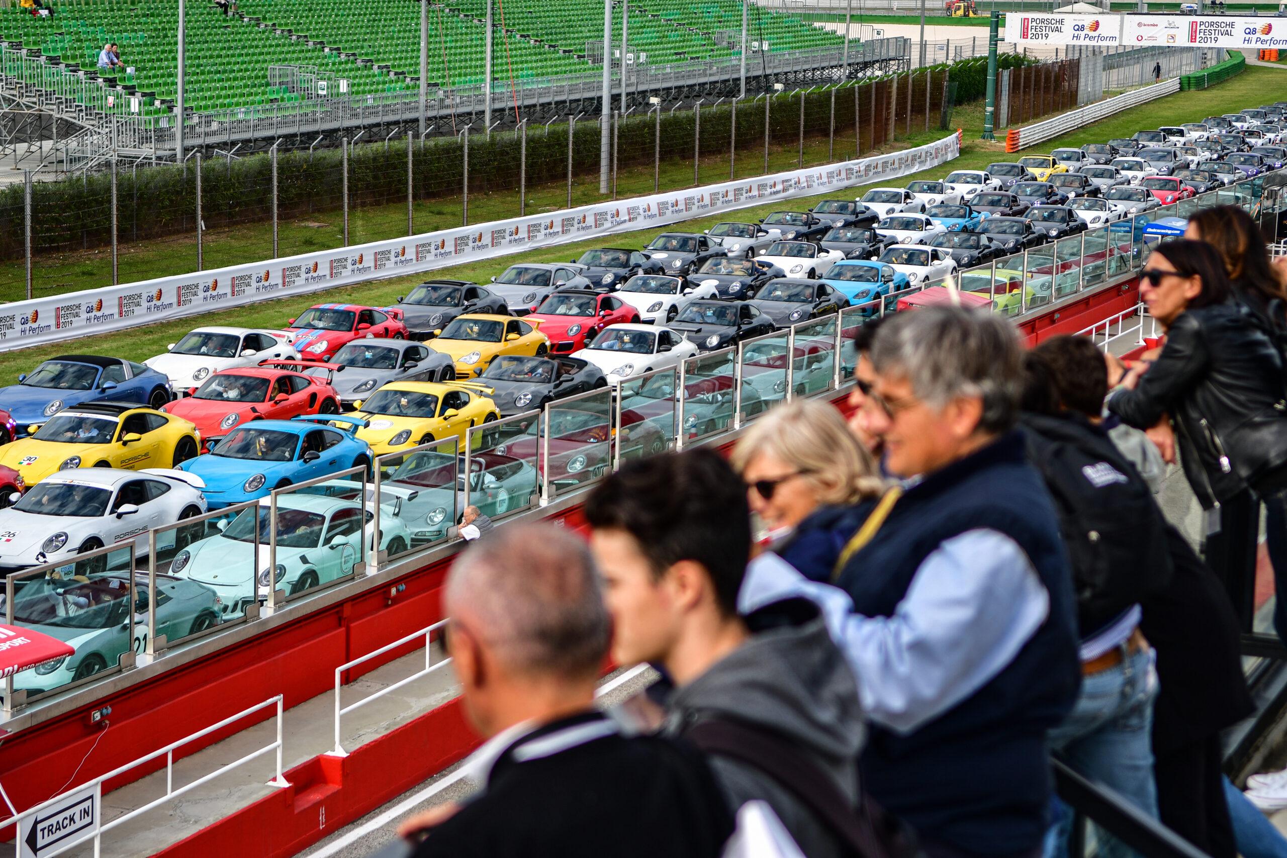 Porsche Festival 2019, Misano World Circuit, ANSA - Angelo D'Ambrosio